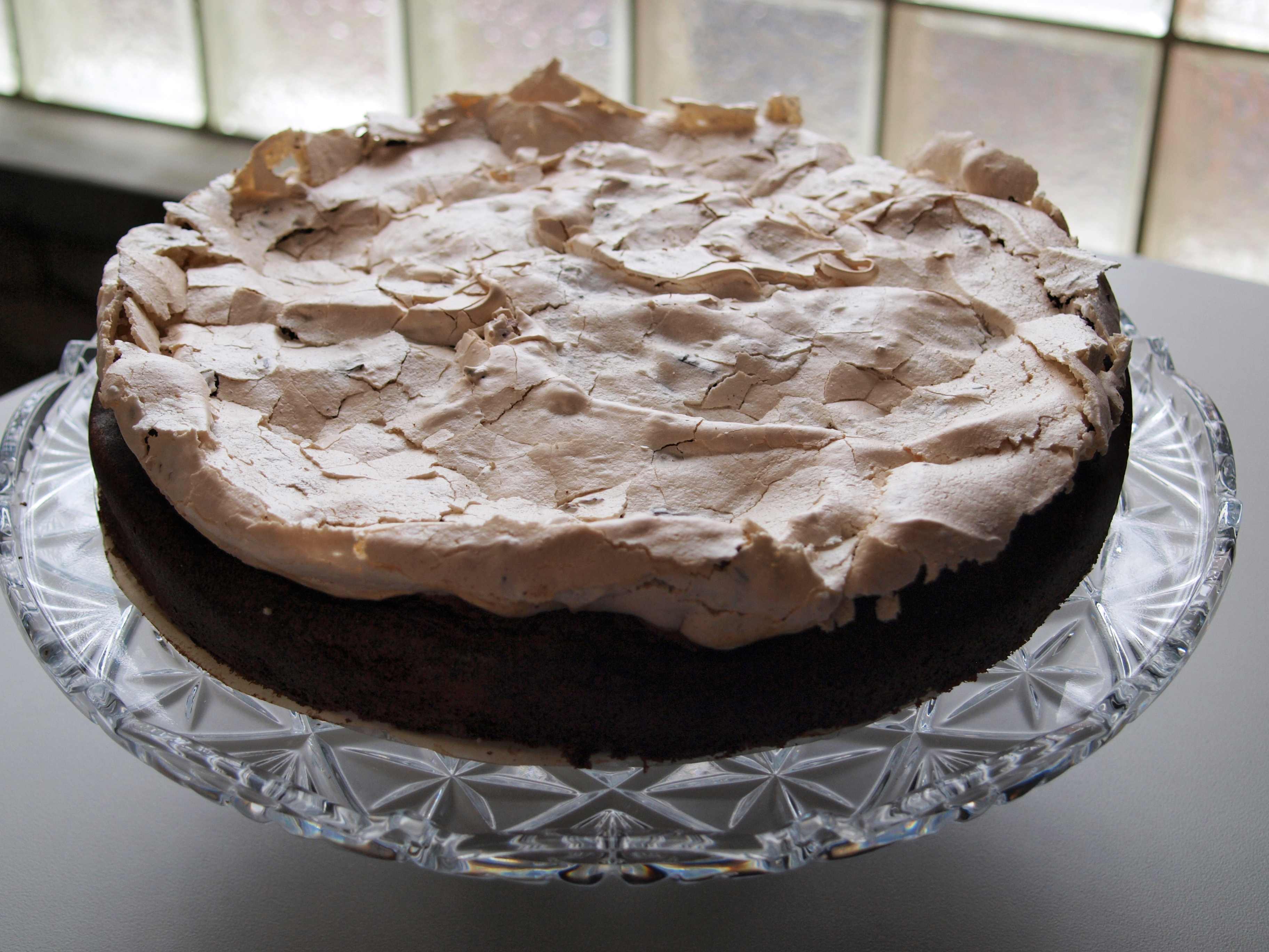 Chocolate Meringue Cake Recipe Dishmaps